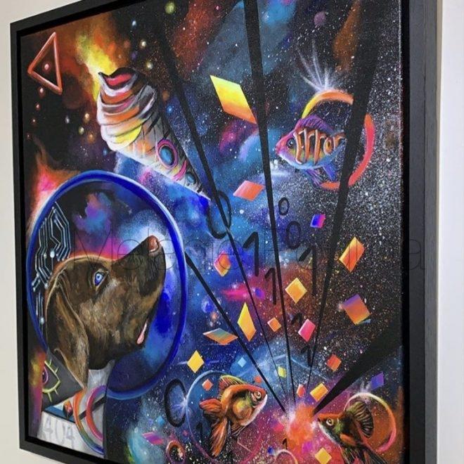 """I Scream"" Available at Walton Fine Arts Gallery London"